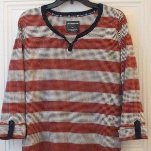 Liz Claiborne Sport Striped Pullover Size XL EUC